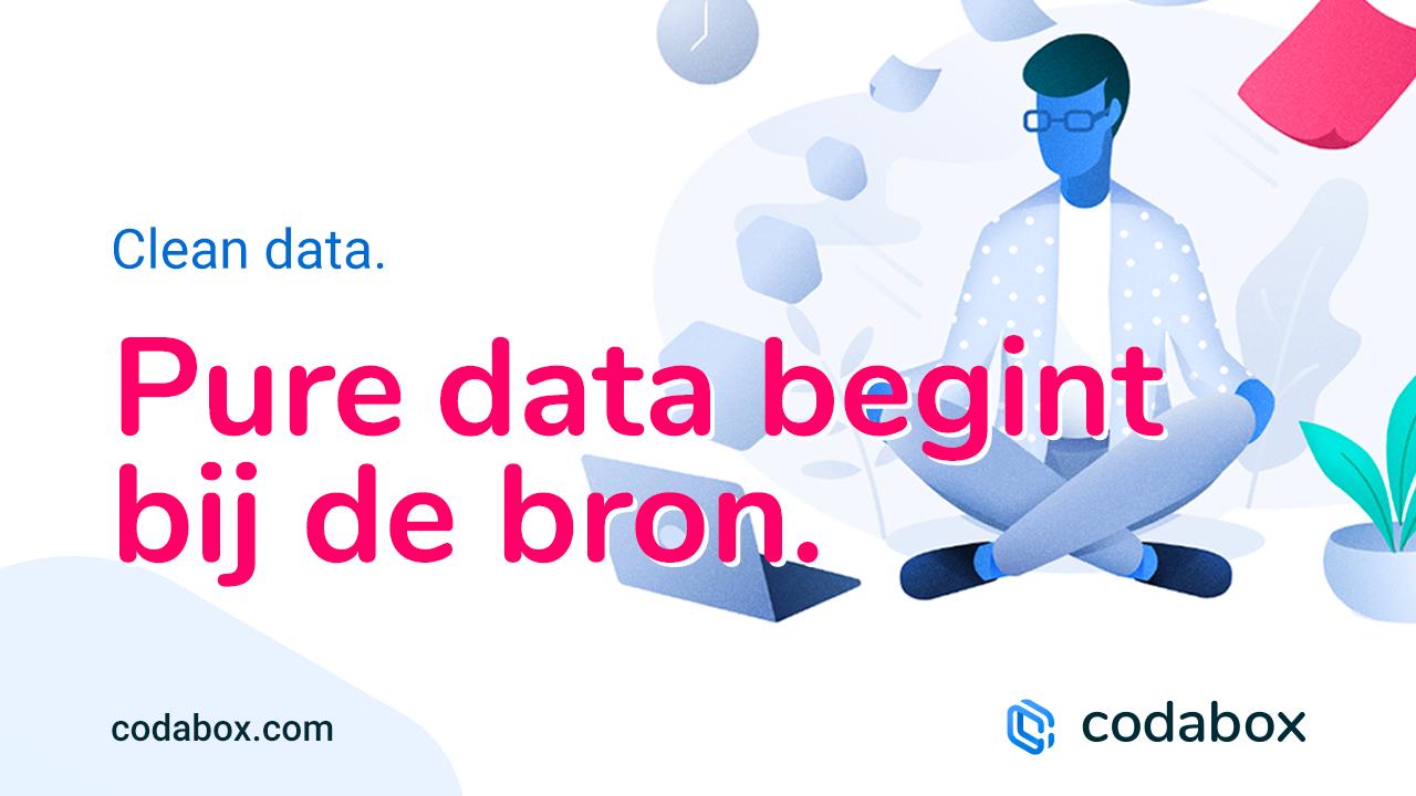 Pure data begint bij de bron