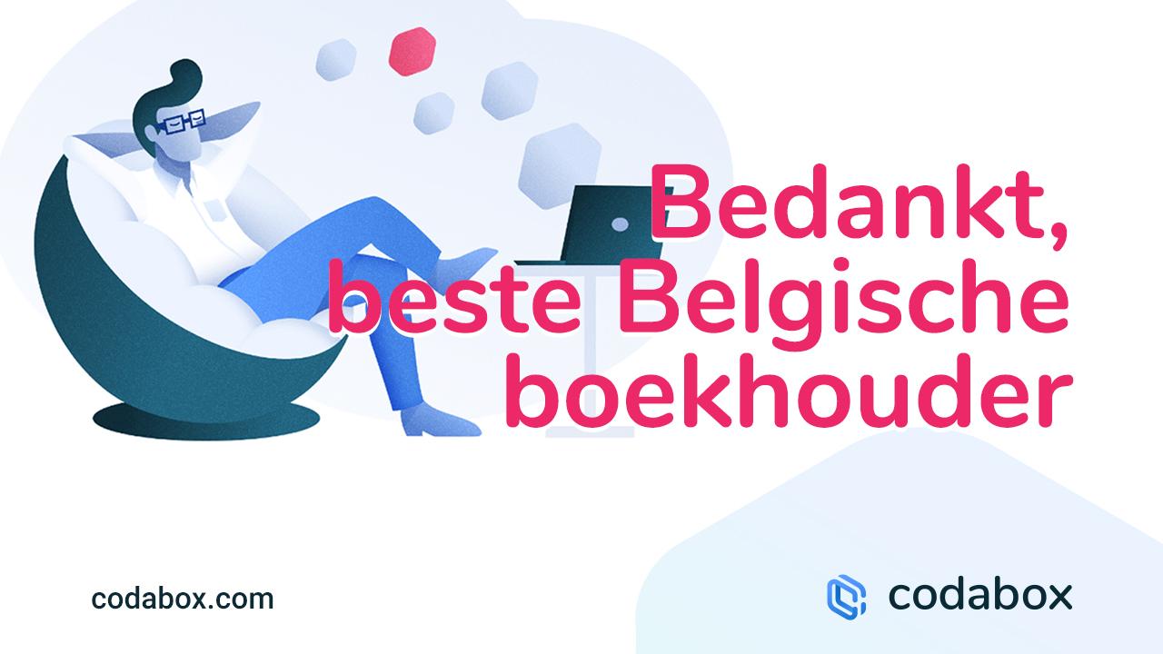 Bedankt, beste Belgische boekhouder