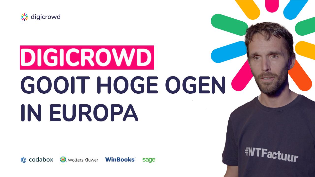 DigiCrowd in de kijker op e-invoicing seminarie van de Europese Unie